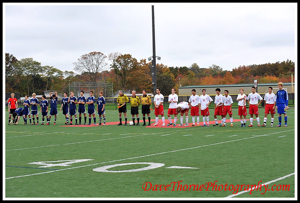 Soccer - Ocean Boys Varsity vs MiddleTown South SCT Semi Finals  Oct 2012