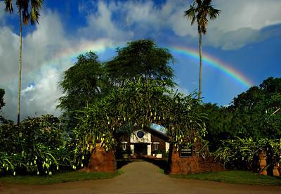 Queen Lili'uokalani Church in Hale'iwa