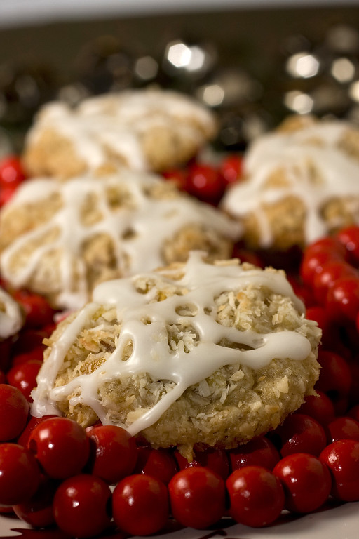 ". Convenience and thrift can come together in a tasty way when you start with prepared dough for your holiday cookies. Tropical Fruitcake Cookies are one way to doctor store-bought dough and end up with a special treat. <a href=""http://www.seattletimes.com/life/food-drink/recipe-tropical-fruitcake-cookies/\"">Get the recipe for tropical fruitcake cookies</a>. (AP Photo/Larry Crowe)"