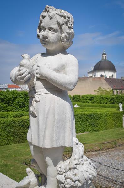 Vienna: Belvedere Gardens