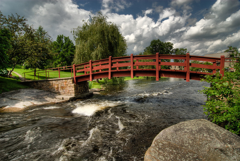 Douglas Cavers Bridge, Stewart Park, Perth, Ontario