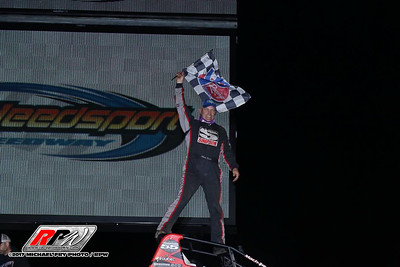 Weedsport Speedway - Wingless Sprints - 6/25/17 - Michael Fry