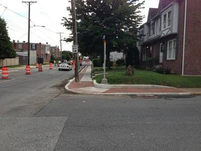 Bayard Square Streetscape </br> Wilmington, DE