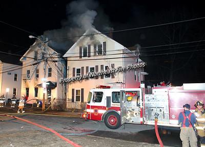 Pawtucket- 3rd Alarm- Melton Street- 3/30/15