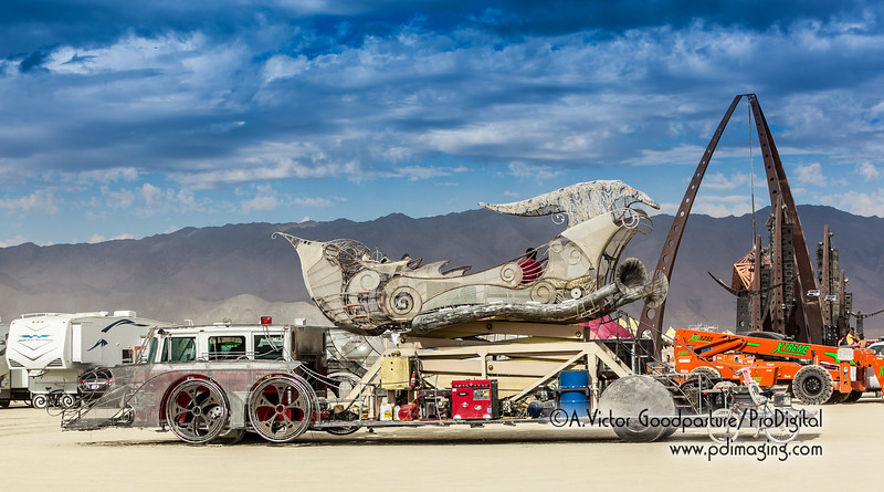 This is the art car whose platform raises 60 feet. If you have the name of it, please email me.