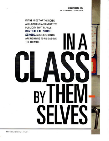 In A Class By Themselves article