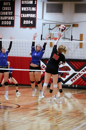 Iowa-Grant vs Mineral point Volleyball 10-17-19