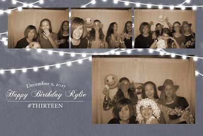 Rylie's 13th Birthday 12-10-17