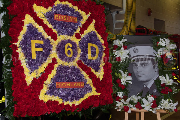 Funeral for Roslyn Highlands Ex-Chief Frank Sokolski 04/29/2020
