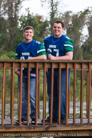Sam and Josh Team Pictures CCA Class of 2017