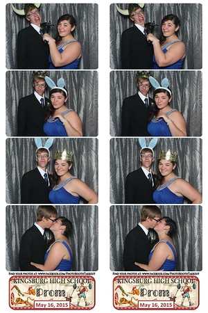 KHS 2015 Prom Photo Booth Strips