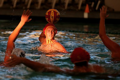 Photos: Berkeley punishes Alameda in water polo conference match