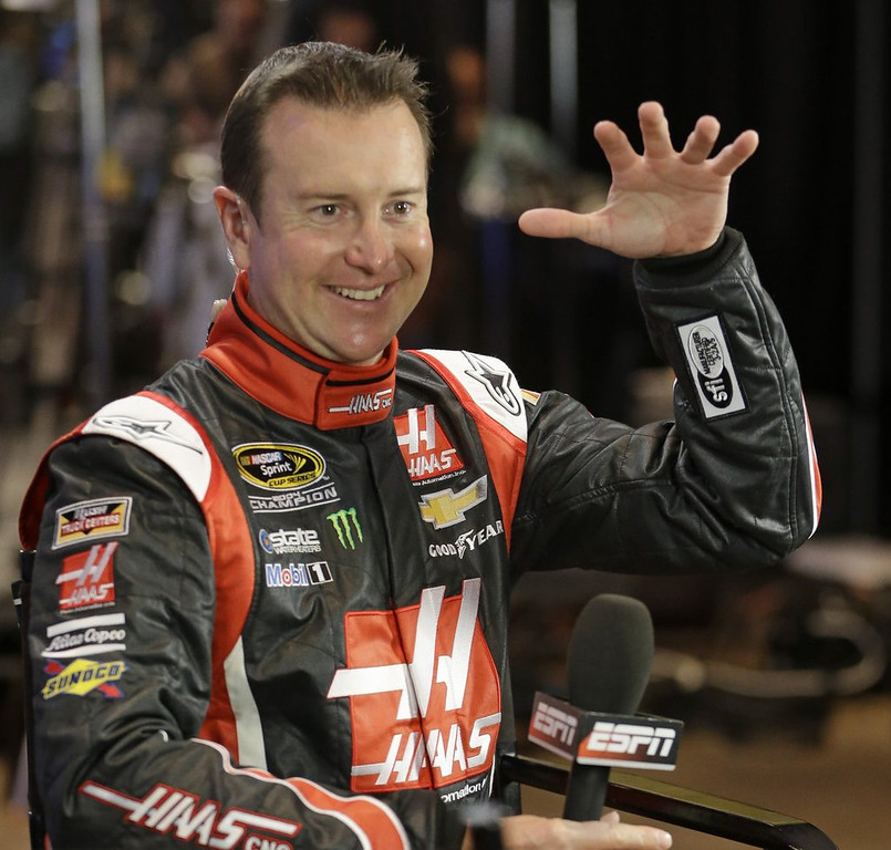 ". <p>9. KURT BUSCH <p>The next racer to make history by losing Indy 500 and Coke 600 on same day. (unranked) <p><b><a href=\'http://www.twincities.com/sports/ci_25270412/kurt-busch-nascar-star-try-indy-500-coca\' target=""_blank\""> HUH?</a></b> <p>    (AP Photo/John Raoux)"