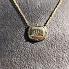 'In Hope' 18kt Yellow Gold Cast Pendant, by Seal & Scribe 18