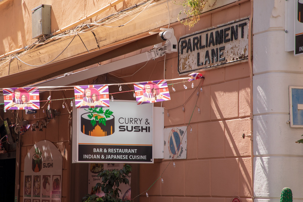Curry and Sushi Restaurant on in Gibraltar