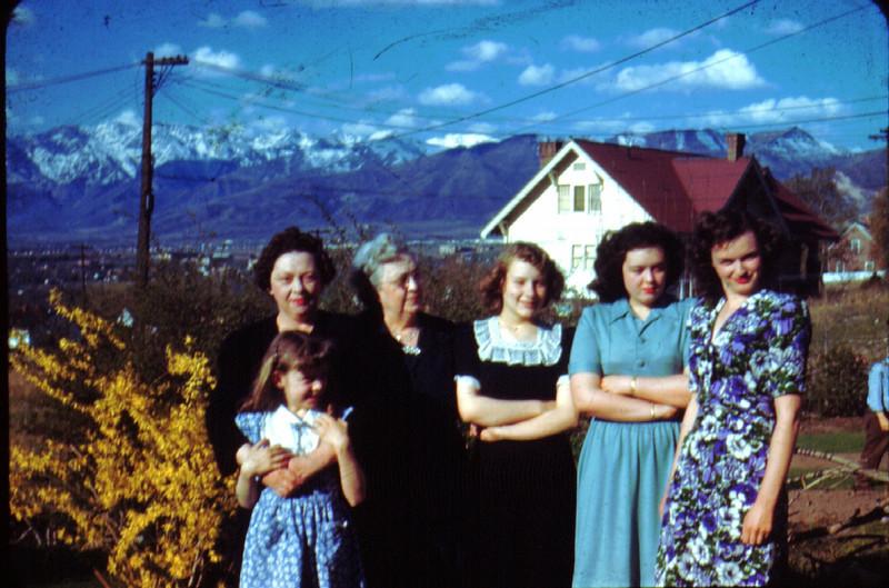 Bette,JoeAnne,MaryLynne,Maude,Lillian,Maudeen