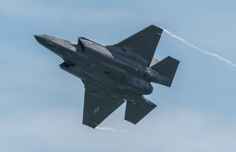 F-35 A Lightning II from Luke Air Force Base, AZ