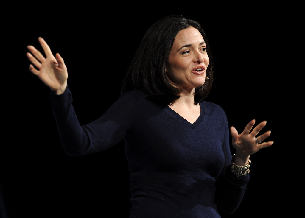 . Sheryl Sandberg, chief operating officer of Facebook, delivers the luncheon keynote session to Professional BusinessWomen of California conference Tuesday May 10, 2011 in San Francisco, Calif.  (Karl Mondon/Staff Archives)