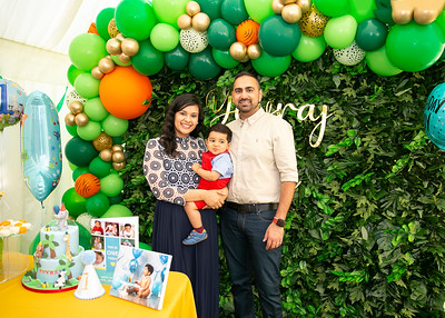 Yuvi's First birthday party