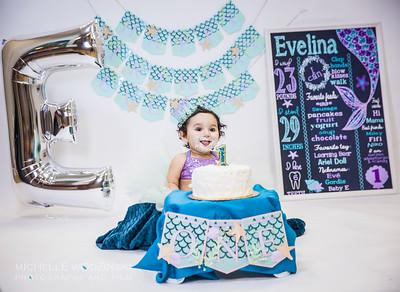EVELINA'S 1-YEAR PORTRAITS