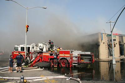 Brooklyn, NY - 3rd Alarm, 2090 Linden Blvd, 6-10-08