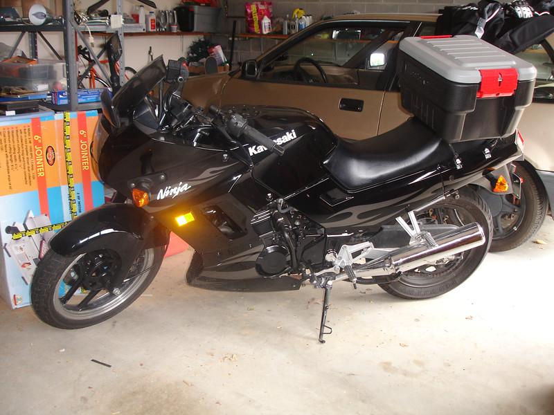 The bike put back together