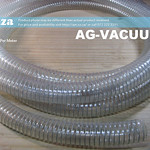SKU: AG-VACUUM/32, A Metre of 32mm Clear Polyurethane Flexible Vacuum Hose with Reinforced Steel Wire