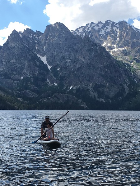 Jenny Lake campground; Grand Tetons NP