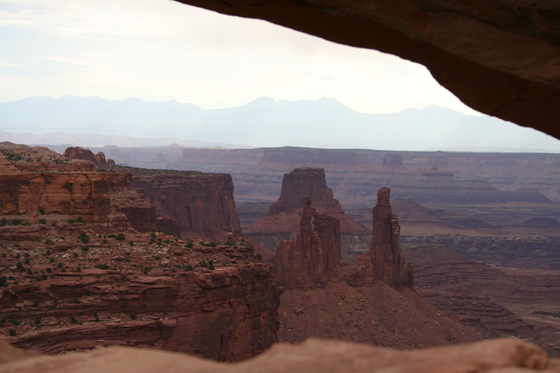 20080909-067 - Canyonlands NP Island in the Sky - 32 Mesa Arch and Washer Woman Arch.JPG