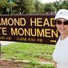 Maura at the Gates of Diamond Head