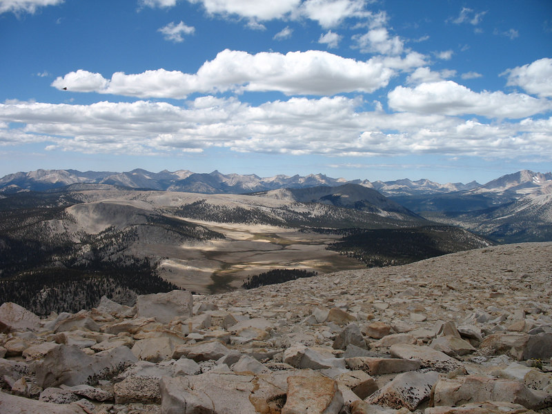 The Great Western Divide in the distance. Siberian Outpost is in the foreground.