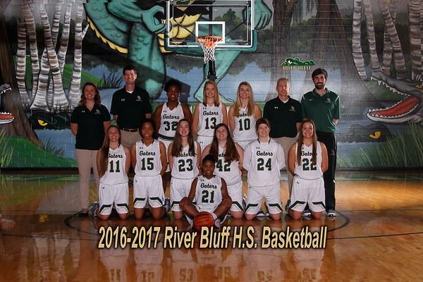 2016-2017  Varsity Girls Basketball