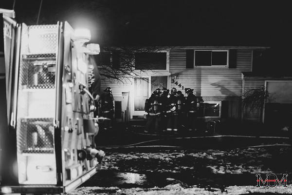 Westland MI, House Fire 1-26-2020
