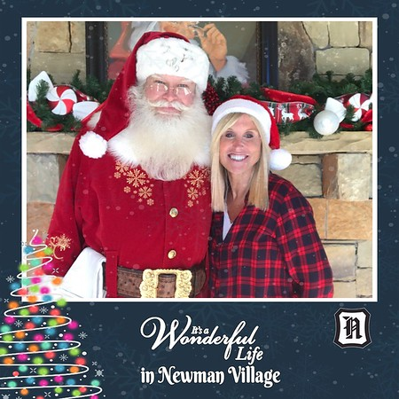 It's A Wonderful Life In Newman Village Selfie Booth 2019