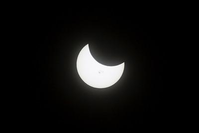 Partial Solar Eclipse 10-23-2014