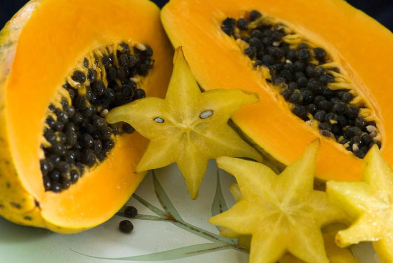 Papaya, Star fruit