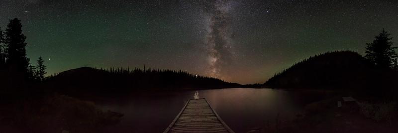 Beaver Dam Pond Nordegg Alberta