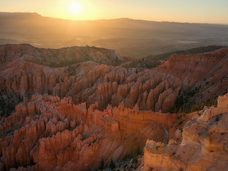 The Glow at Bryce Point at Sunrise