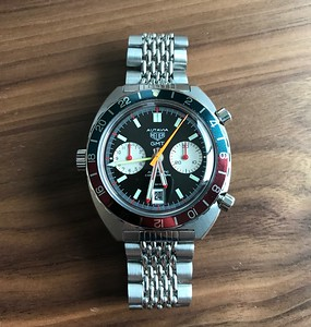 Heuer Autavia GMT 1163 2nd Exec