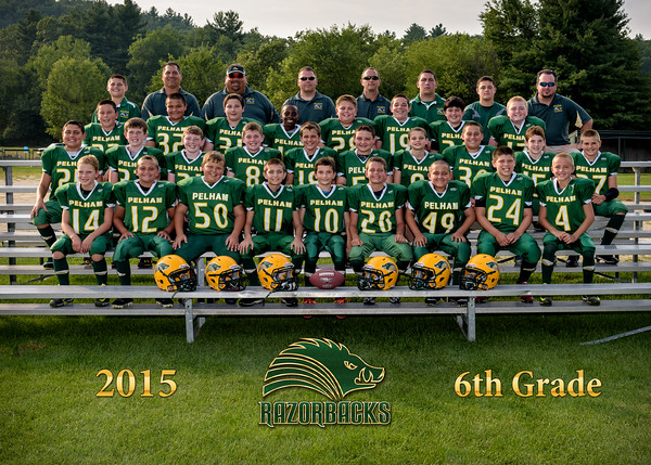 Football - 6th Grade Portraits