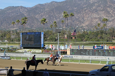 2012 0204 Santa Anita with Joey and Aaron