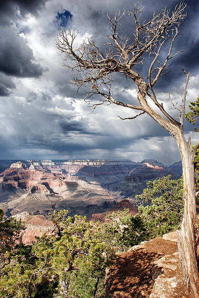 19. Storm Clouds Over The Grand Canyon.jpg