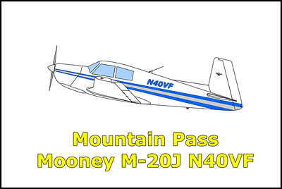 Mountain Pass Mooney M-20J N40VF 12/29/12