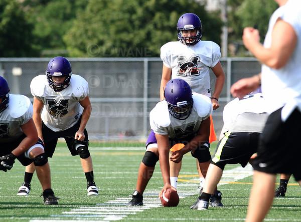 Football Practice - 09-21-13