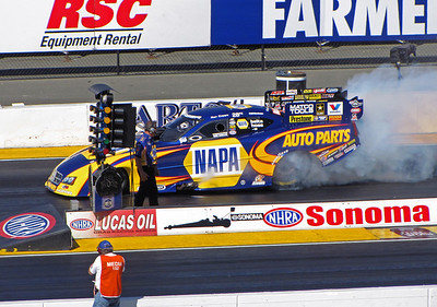 NHRA Drag Racing, Sonoma, CA 2012