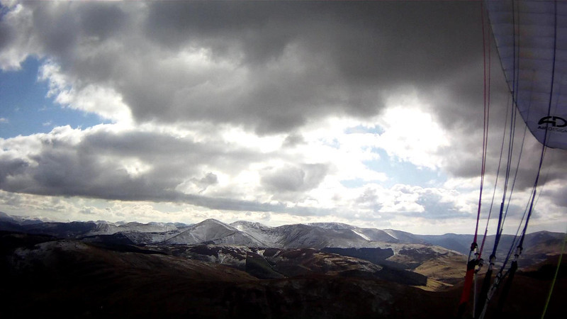 South towards NW fells, Buttermere etc
