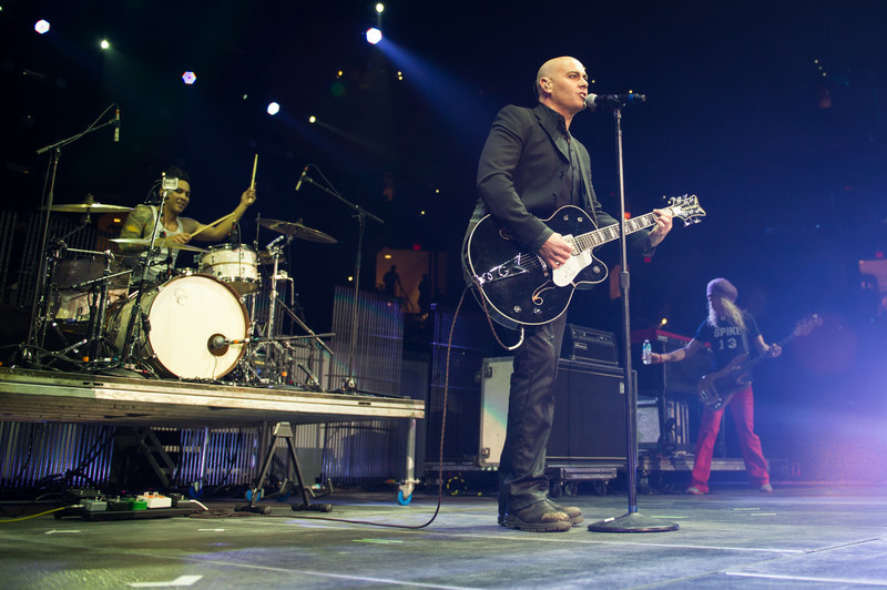 Jeff Irizarry, Peter Furler, and Phil Joel perform on January 14, 2012 during Winter Jam at Tampa Bay Times Forum in Tampa, Florida