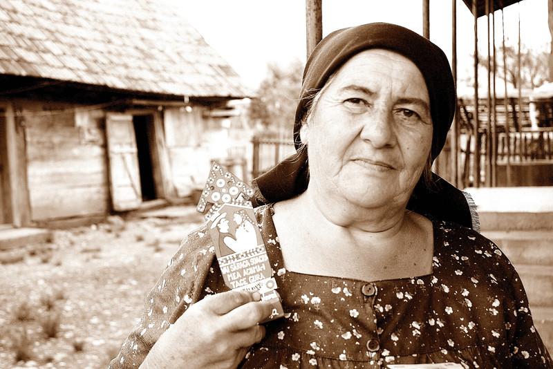 Woman in Sapanta, Romania