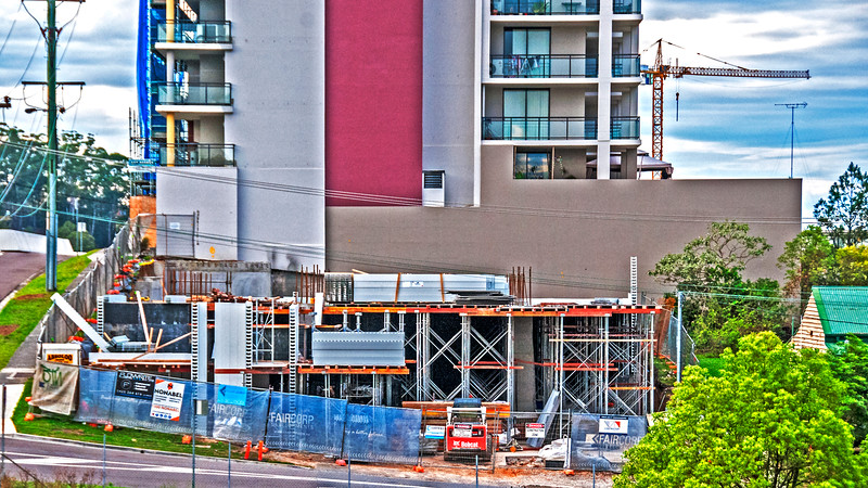 Construction Progress Units Beane St. #23 of - An ongoing photographic building record.