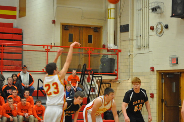 CHS vs Effingham Hoops 1/25/13